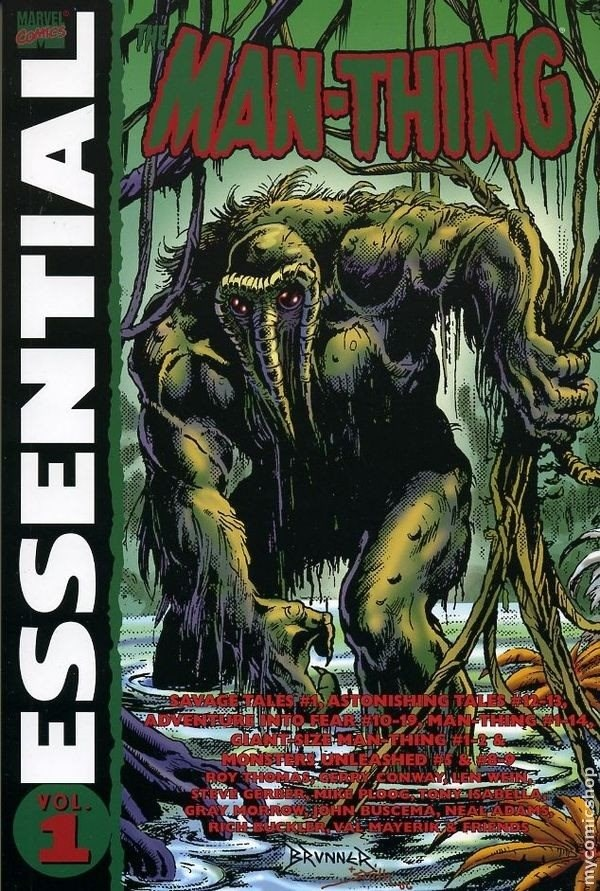 Comic Essential Man-Thing Vol 1 Y 2 (Lote Completo)