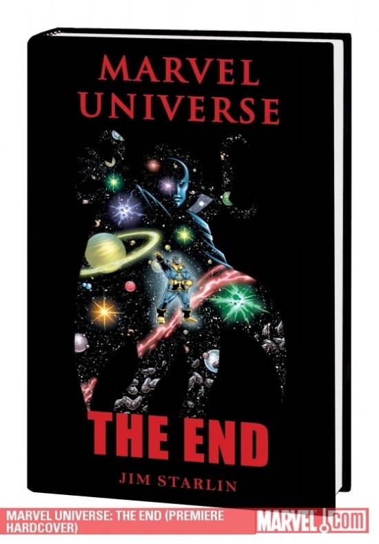 Comic Marvel Universe: The End   Hc (Usado)