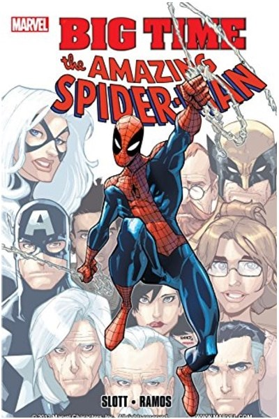 Comic Spider-Man Big Time Completo (Once Tpbs)
