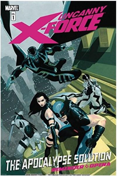 Comic Uncanny X-Force De Rick Remender  Lote Completo (7 Libros)