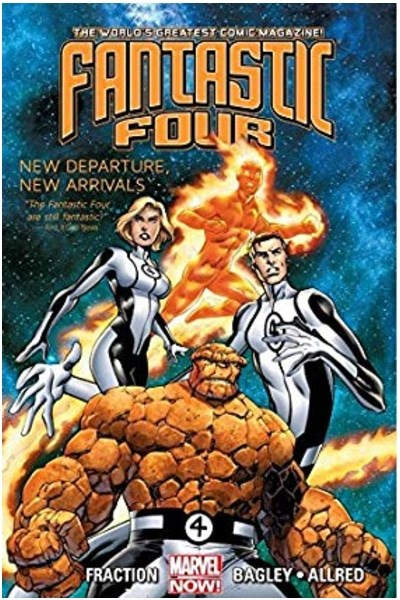 Comic Fantastic Four De Matt Fraction Lote Completo (Tres Tpbs)