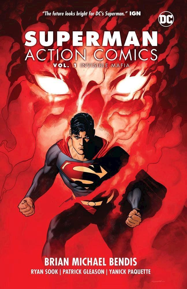 Comic Superman: Action Comics Vol. 1: Invisible Mafia Tpb