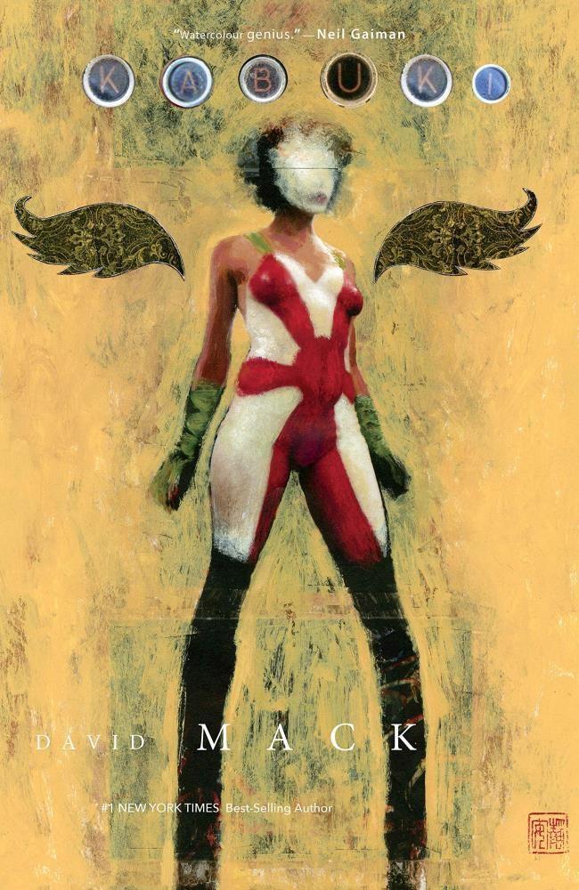 Comic Kabuki Omnibus Volume 1 Tpb