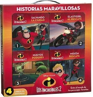 Papel Increibles Ii - Historias Maravillosas