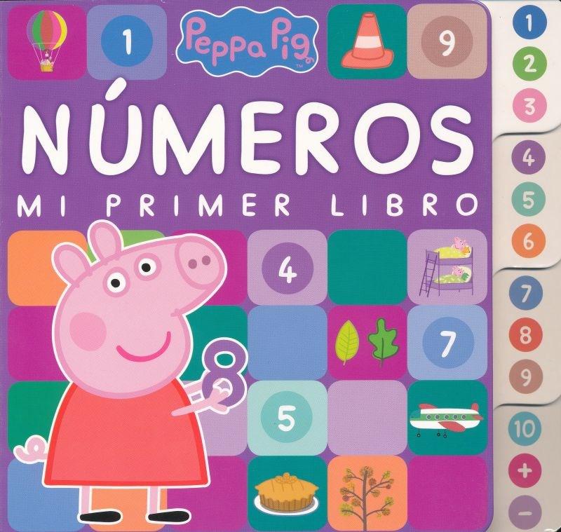 Papel Peppa Pig Numeros Mi Primer Libro