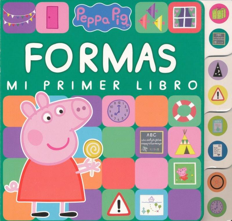 Papel Peppa Pig Formas Mi Primer Libro