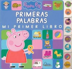 Papel Peppa Pig Palabras Mi Primer Libro