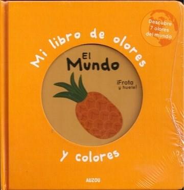 Papel Mi Libro De Olores Y Colores: El Mundo