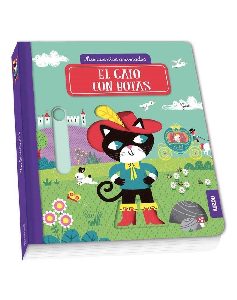 Papel Cuentos Animados: El Gato Con Botas