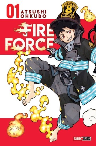 Manga Fire Force 01