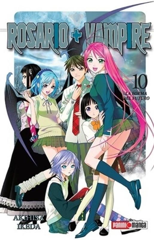 Manga Rosario Vampire 10 (Ultimo Tomo)
