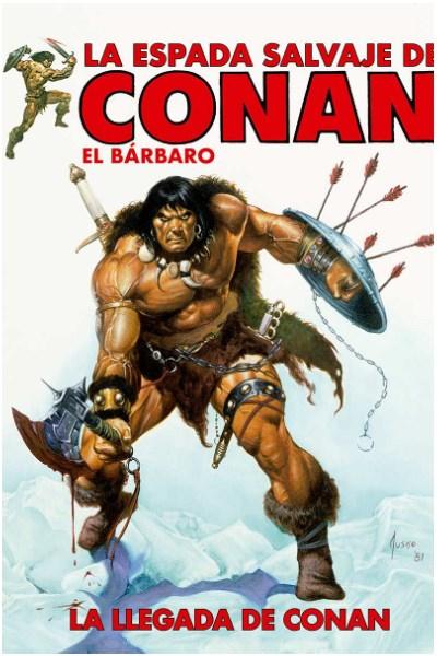 Comic La Espada Salvaje De Conan: La Llegada De Conan (Hc)