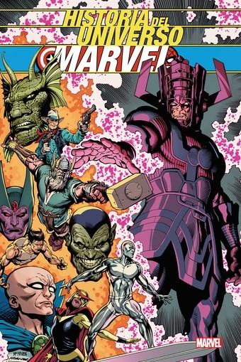 Comic Historia Del Universo Marvel (Hc)