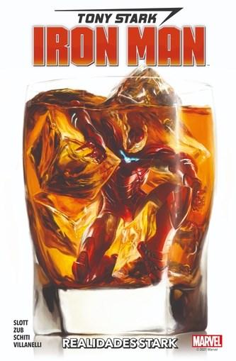 Comic Tony Stark Iron Man 02 Realidades Stark