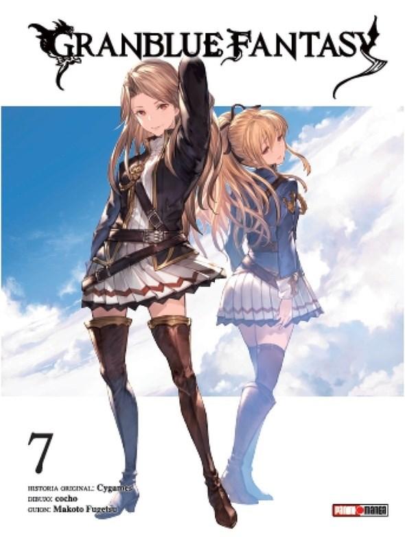 Manga Granblue Fantasy 07 (Ultimo Tomo)