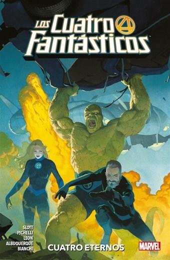 Comic Los Cuatro Fantasticos 01 Cuatro Eternos