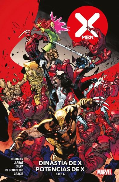 Comic X-Men 03 Dinastia De X Potencias De X (3 De 4)