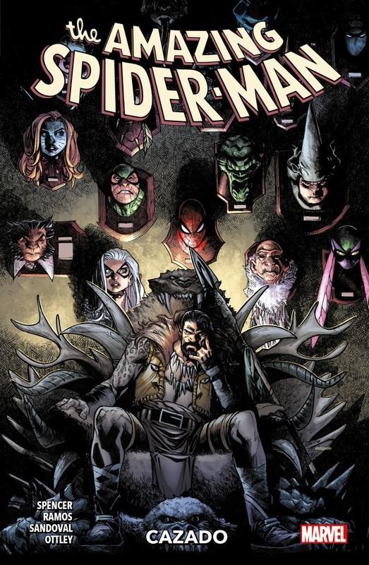 Comic The Amazing Spider-Man 02 Cazado
