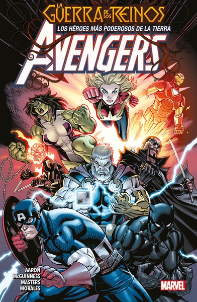 Comic Avengers 02 La Guerra De Los Reinos