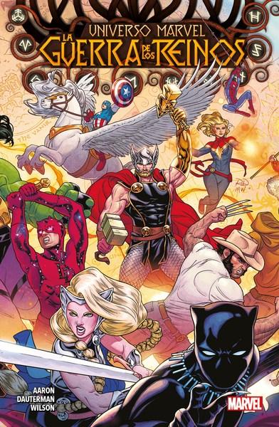 Comic Universo Marvel 01 La Guerra De Los Reinos