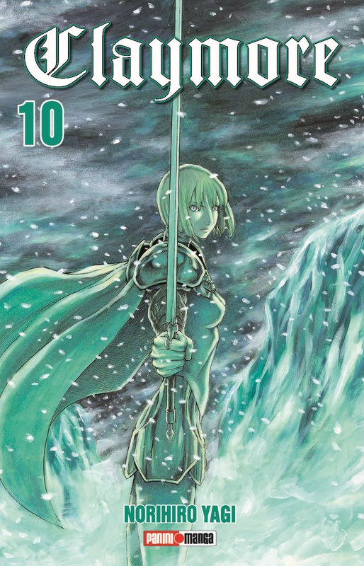 Manga Claymore 10