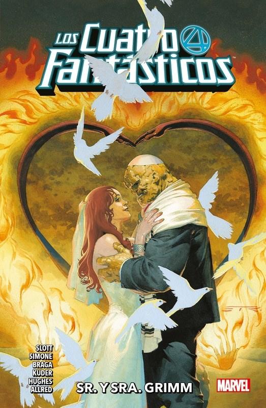 Comic Los Cuatro Fantasticos 02 Sr Y Sra Grimm