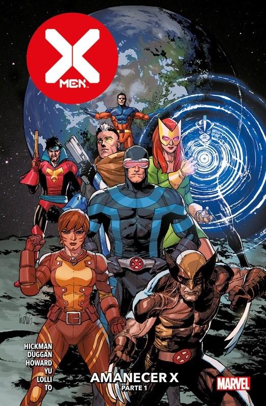 Comic X-Men 05 Amanecer X Parte 1