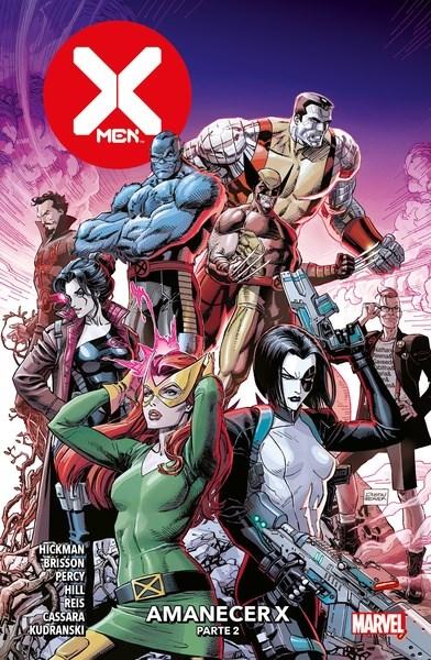 Comic X-Men 06 Amanecer X Parte 2