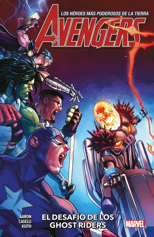 Comic Avengers 03 El Desafio De Los Ghost Riders