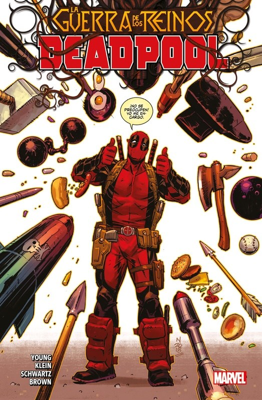 Comic Deadpool 03 La Guerra De Los Reinos