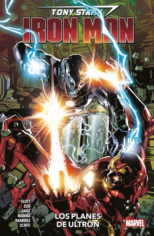 Comic Tony Stark Iron Man 04 Los Planes De Ultron