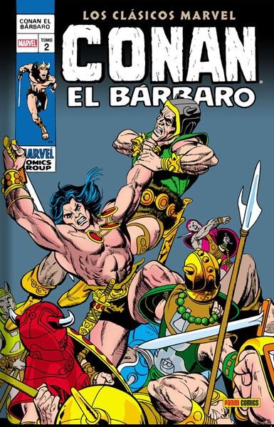 Comic Conan El Barbaro 02 (Clasicos Marvel)