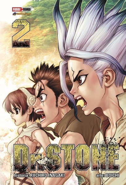 Manga Dr Stone 02