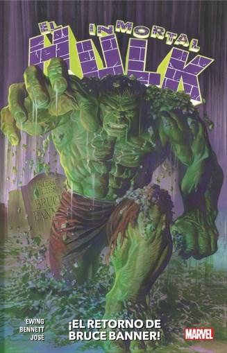 Comic El Inmortal Hulk 01: El Retorno De Bruce Banner