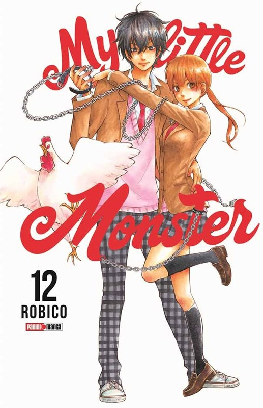 Manga My Little Monster 12