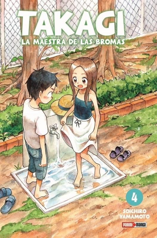 Manga Takagi La Maestra De Las Bromas 04