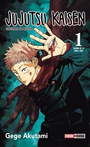 Manga Jujutsu Kaisen 01