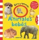 Papel Animales Bebes - Gira Y Aprende