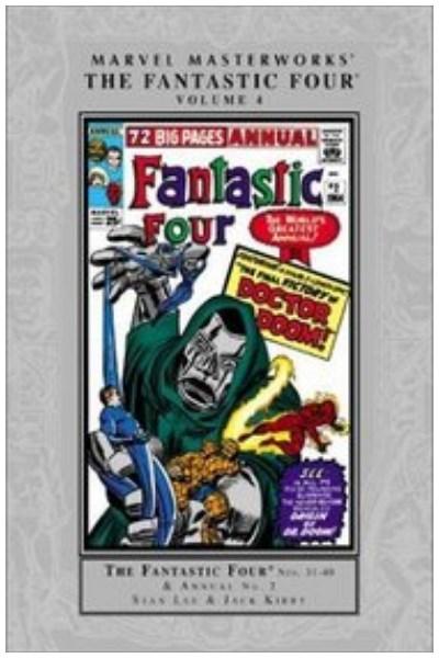 Comic Marvel Masterworks Fantastic Four Hc Vol. 04