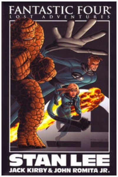 Comic Fantastic Four - Lost Adventures Stan Lee Prem Hc