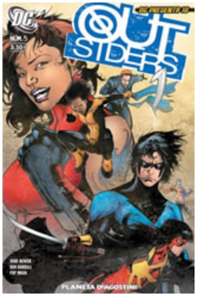 Comic Dc Presenta 10: Outsiders Nº 05