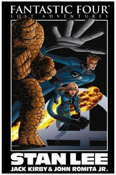 Comic Fantastic Four: Lost Adventures By Stan Lee Tpb