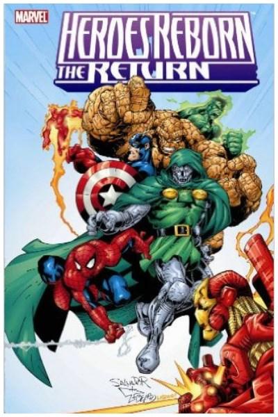 Comic Heroes Reborn: The Return Tpb