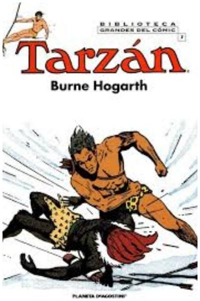 Comic Tarzan Biblioteca Grandes Comic Completo 18 Tomos Tapa Dura