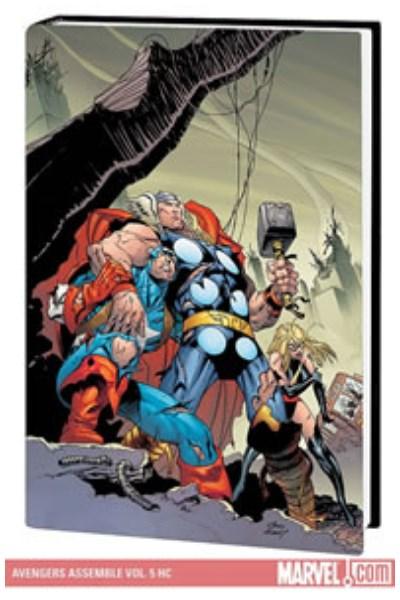 Comic Avengers Assemble Vol. 5 (Hardcover)