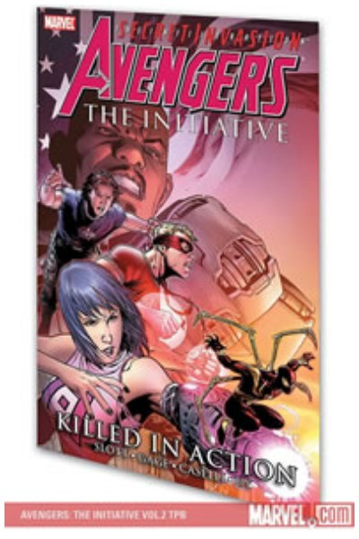 Comic Avengers: The Initiative Vol. 2 - Killed In Action Tpb