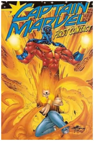 Comic Captain Marvel: First Contact (Descatalogado Usado)