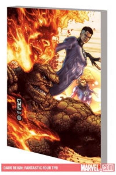Comic Fantastic Four: Dark Reign