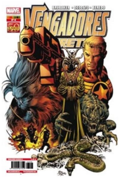 Comic Vengadores Secretos Nº 08