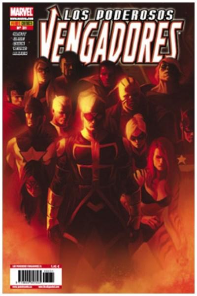 Comic Los Poderosos Vengadores Nº 31